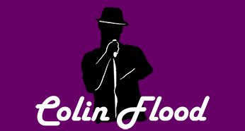 colin flood blank logo background